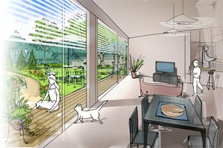 自由設計の家イメージ